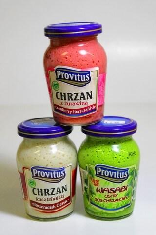 Polish horse radish with flavours