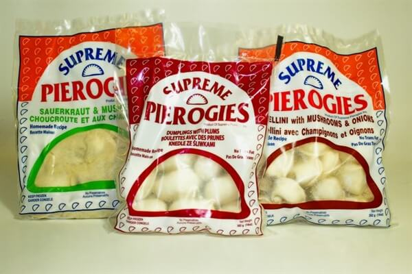 Supreme perogies and dumplings