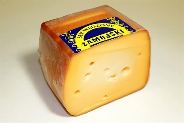 Polish Smoked Edam Cheese