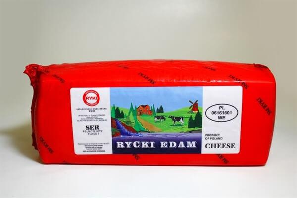 Polish Ricky Edam Cheese