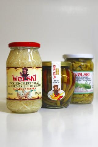 Wolski Polish Mixed Salad - Feferonis
