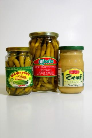 Feferoni, podravka mustard