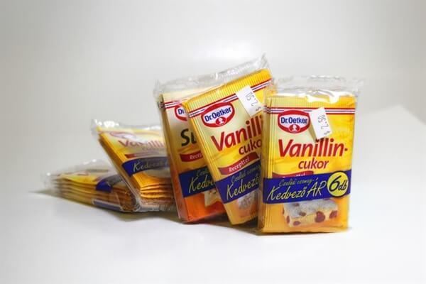 Hungarian Vanilla Sugar and Baking Powder