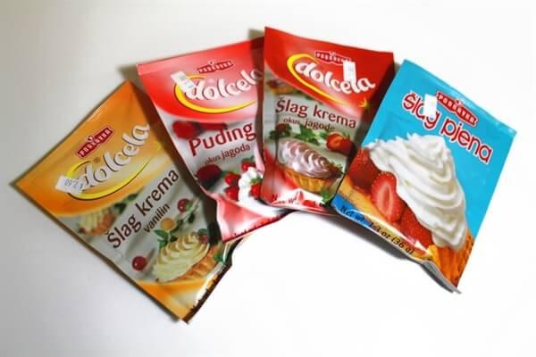 Podravka Puddings and Whipped Cream