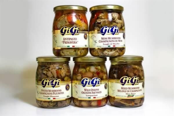 Italian Gigi Wild Mushrooms and Antipasto